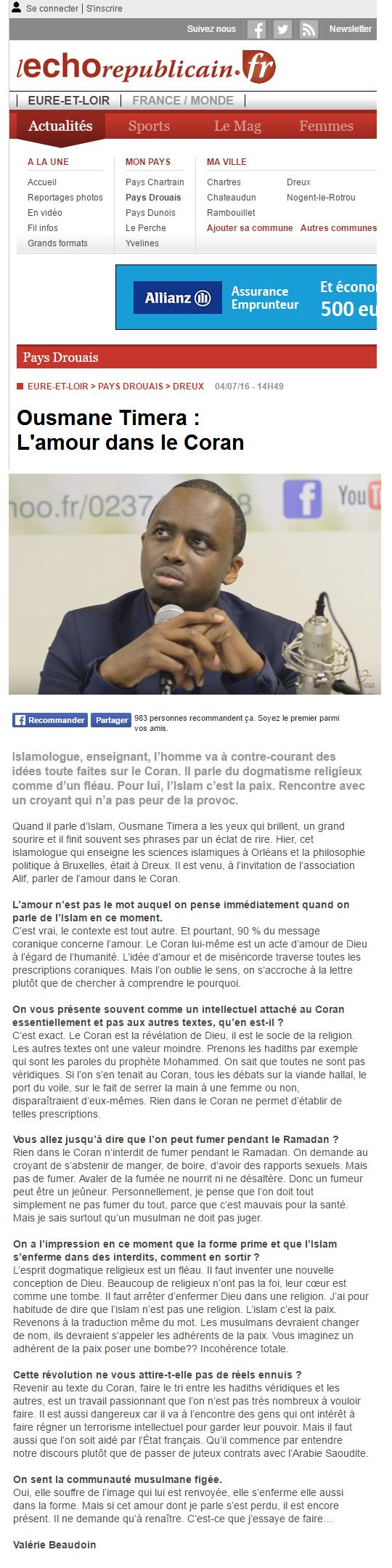 Ousmane_Timera_L'Echo_Républicain